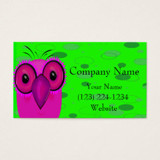 The Owl Business Card