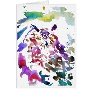 ''The owl'' Card