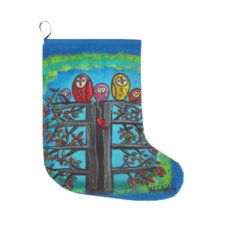The Owl Family Stocking