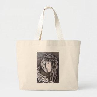 The Owl in Me Jumbo Tote Bag