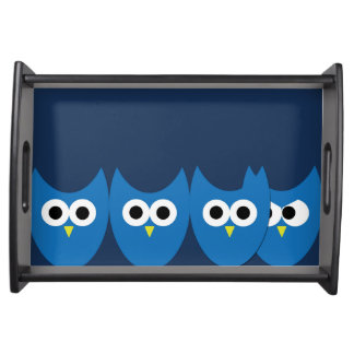 The Owls Serving Tray