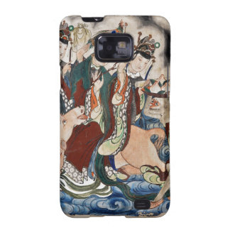 The Ox Figure of the Chinese Zodiac Wall Painting Samsung Galaxy S2 Case
