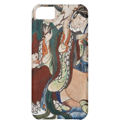 The Ox Figure of the Chinese Zodiac Wall Painting iPhone 5C Covers