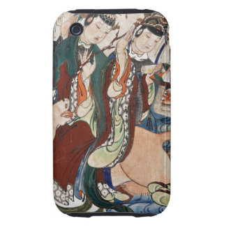 The Ox Figure of the Chinese Zodiac Wall Painting Tough iPhone 3 Cover