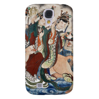 The Ox Figure of the Chinese Zodiac Wall Painting Galaxy S4 Case