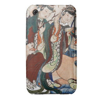The Ox Figure of the Chinese Zodiac Wall Painting iPhone 3 Covers