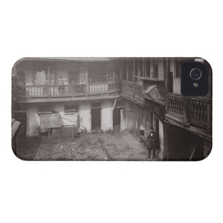 The Oxford Arms in Warwick Lane, 1875, from 'Histo iPhone 4 Cases