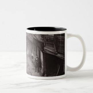 The Oxford Arms in Warwick Lane, 1875, from 'Histo Two-Tone Coffee Mug