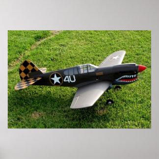 The P-40 Warbird Poster