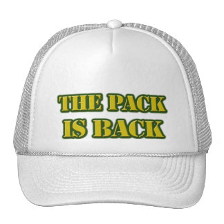 the pack is back trucker hat