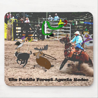 The paddle forest agents rodeo mouse pad