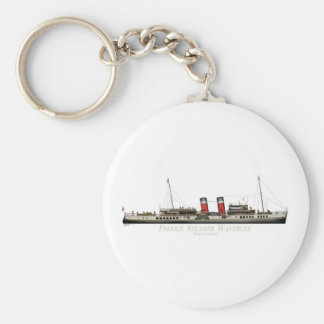 The Paddle Steamer Waverley by Tony Fernandes Key Ring