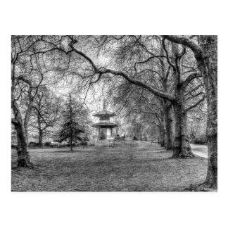 The Pagoda Battersea Park London Postcard