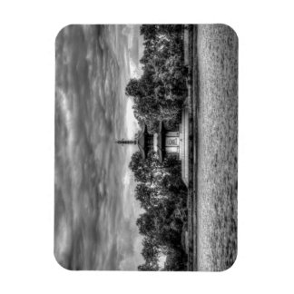 The Pagoda London Rectangle Magnets