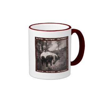 The Paint Horse II gifts & greetings Ringer Mug