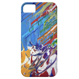 The Paint Splash Barely There iPhone 5 Case