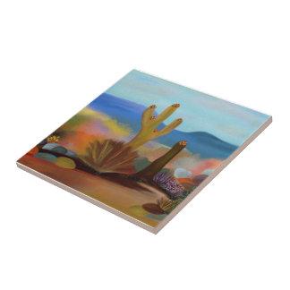 The Painted Desert Ceramic Tile