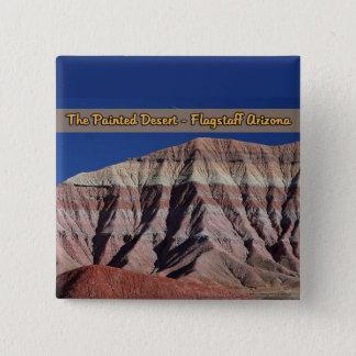 The Painted Desert Flagstaff Arizona 15 Cm Square Badge