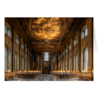 The Painted Hall, Greenwich London Card