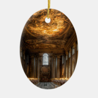 The Painted Hall, Greenwich London Christmas Ornament