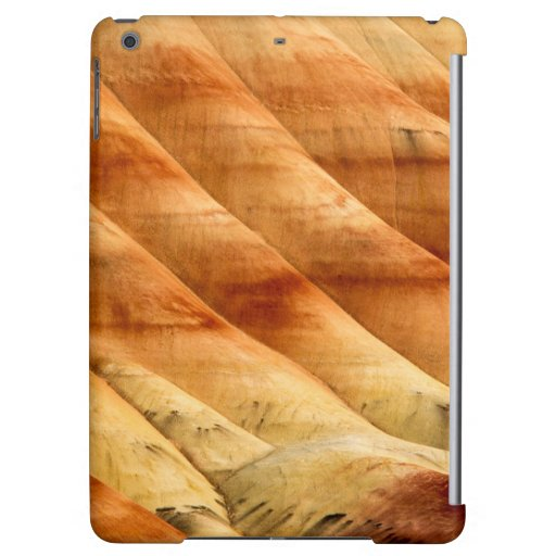 The Painted Hills In The John Day Fossil Beds 2 Cover For iPad Air