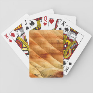 The Painted Hills In The John Day Fossil Beds 2 Playing Cards