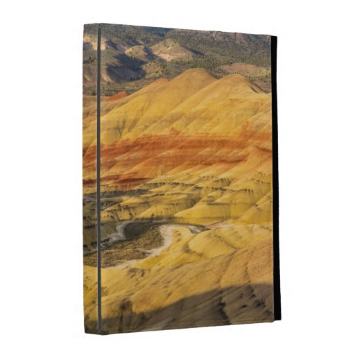 The Painted Hills In The John Day Fossil Beds 3 iPad Folio Case