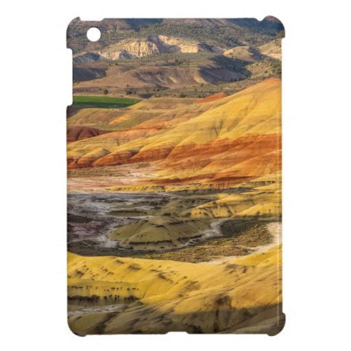 The Painted Hills In The John Day Fossil Beds 3 Cover For The iPad Mini