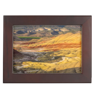 The Painted Hills In The John Day Fossil Beds 3 Keepsake Box