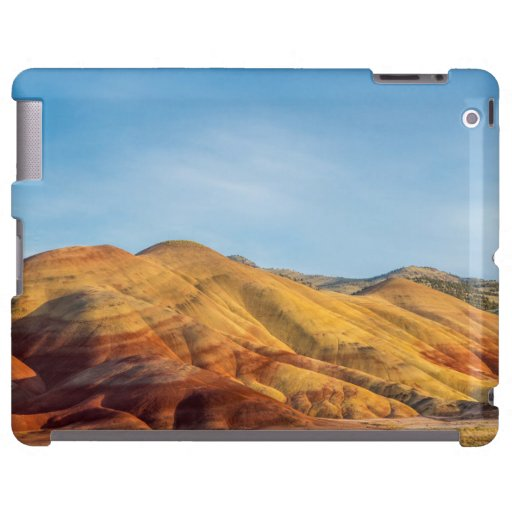 The Painted Hills In The John Day Fossil Beds