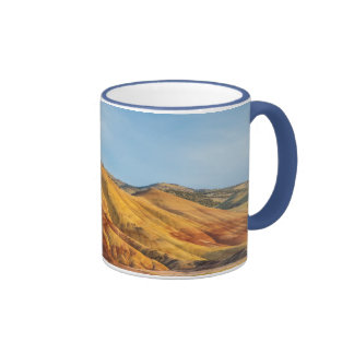 The Painted Hills In The John Day Fossil Beds Coffee Mug