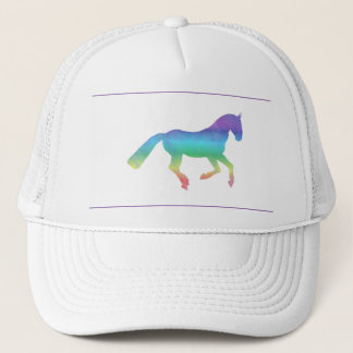 The painted horse trucker hat