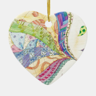 The Painted Quilt Christmas Ornament