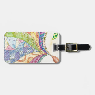 The Painted Quilt Luggage Tag