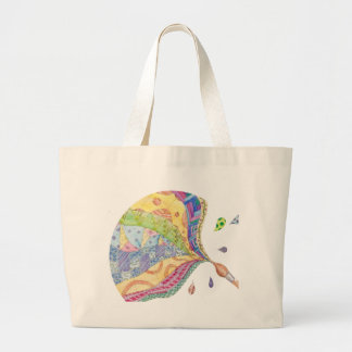 The Painted Quilt tote bag