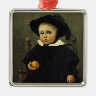 The Painter Adolphe Desbrochers as a Child Christmas Ornament
