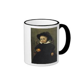 The Painter Adolphe Desbrochers as a Child Ringer Mug