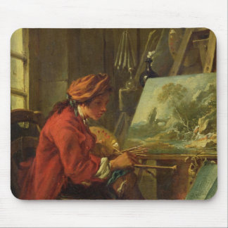 The Painter in his Studio Mouse Mat