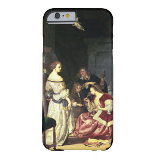 The Painter with his Family, 1675 (oil on panel) Barely There iPhone 6 Case