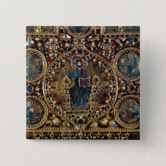 The Pala d'Oro, detail of Christ in Majesty with 15 Cm Square Badge