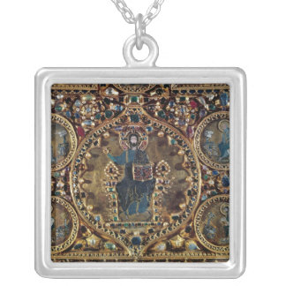 The Pala d'Oro, detail of Christ in Majesty with Silver Plated Necklace
