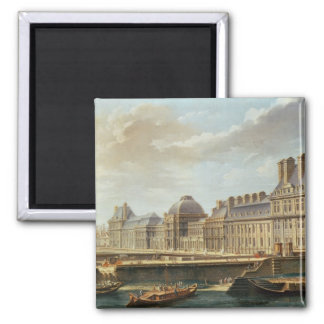 The Palace and Garden of the Tuileries, 1757 Magnet