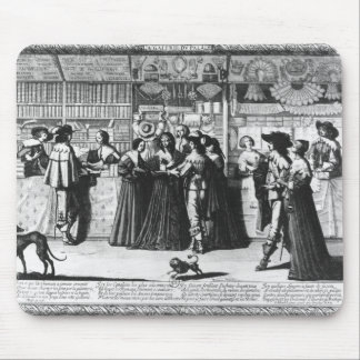 The Palace Gallery, engraved by Le Blond Mouse Mat