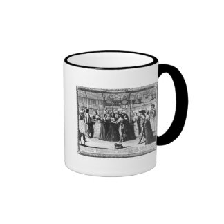 The Palace Gallery, engraved by Le Blond Coffee Mugs