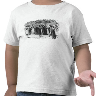 The Palace Gallery, engraved by Le Blond Tshirts