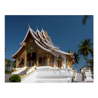 The palace in Luang Prabang Postcard