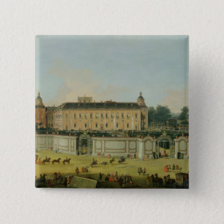 The Palace of Aranjuez, 1756 (oil on canvas) 15 Cm Square Badge