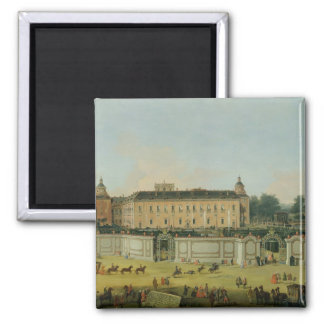 The Palace of Aranjuez, 1756 (oil on canvas) Magnet