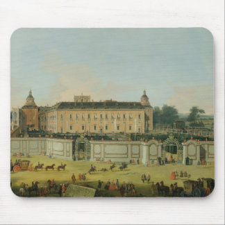 The Palace of Aranjuez, 1756 (oil on canvas) Mouse Mat
