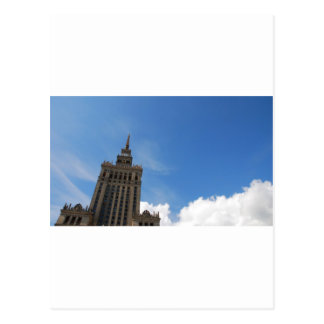 The Palace of Culture and Science Postcard